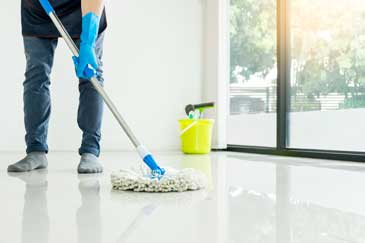 garage metallic epoxy floor