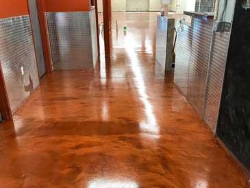 metallic epoxy floor coating