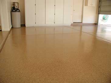pure metallic epoxy floor