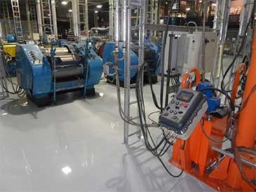 Factory Epoxy Flooring Resistance