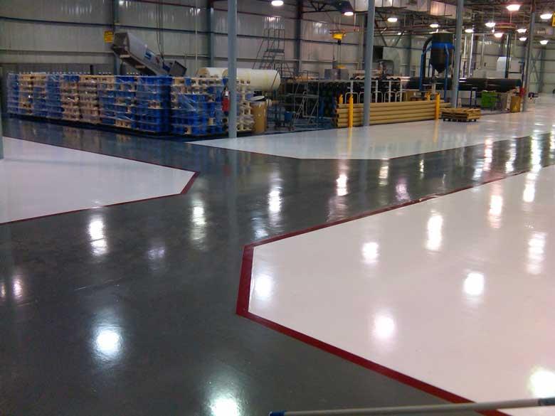 Epoxy Flooring Factory Needs