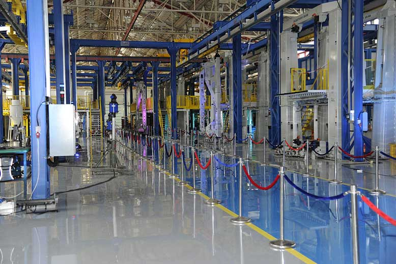 How Epoxy Flooring Makes Your Factory Safer